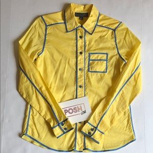 Proenza Schouler For Target Yellow Woven Shirt